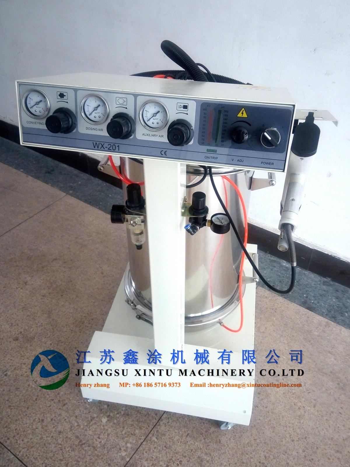 手動靜電噴塑機(型號:XT-201)