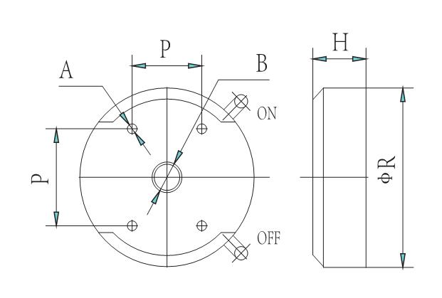 LSCL6-xx 磁力底座