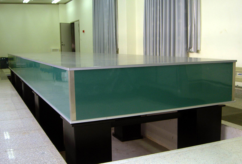 Optical Table (9.0MX2.0m) Changchun Institute of Optics & Fine Mechanics   of the Chinese Academy of Sciences