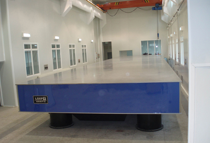 Optical Table (20MX4.5m) for China Academy of Engineering Physics