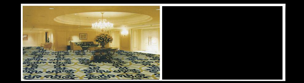 腈纶地毯展示