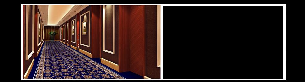 走廊地毯展示