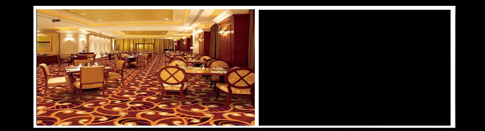 宴会厅地毯展示