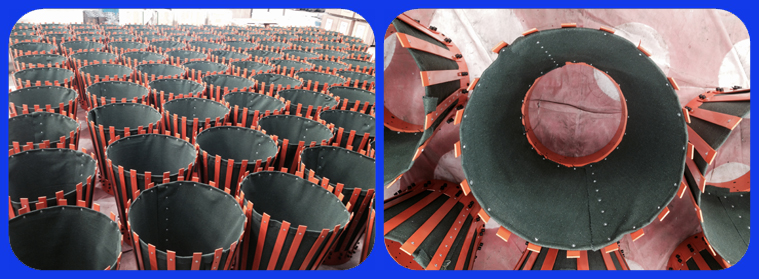 Slip On Canvas Cementing Basket