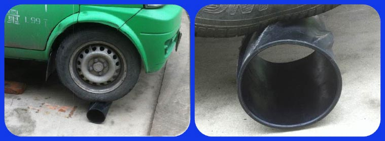 Composite Centralizer Inspection by car