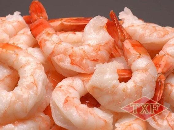 冷冻熟凤尾虾