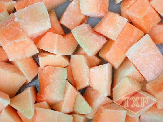 冷冻哈密瓜块