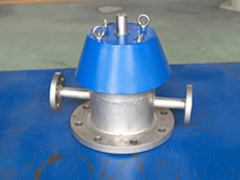 Steam jacket flame arrester pressure relief valve
