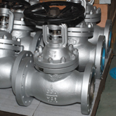 300Lb 6Inch bellows globe valve is delivered