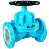 ANSI Lined Diaphragm valve