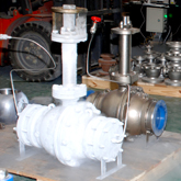 Cryogenic service ball valves testing show