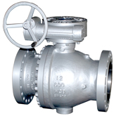 ANSI 600Lb Worm gear trunnion ball valve