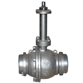 2PCs Cryogenic service trunnion ball valve