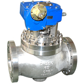 High temperature top entry ball valve