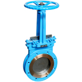 Double Flanges Knife Gate Valve