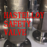 HASTELLOY SAFETY VALVE SHOW