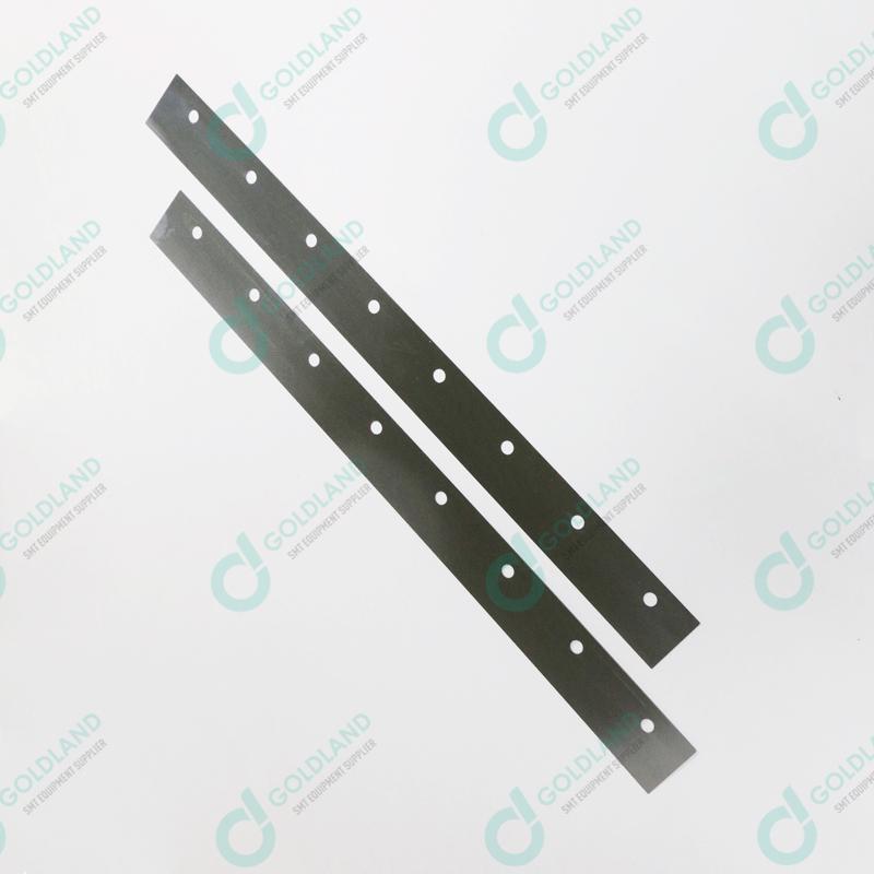 129926 DEK 350mm 60 Degree metal replacement squeegee blade