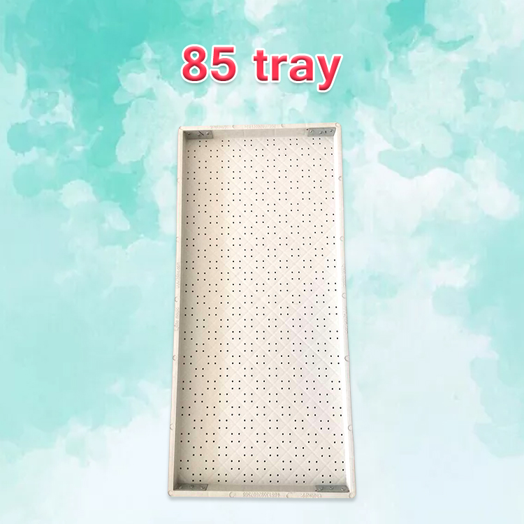 Big size 85x40CM warranty 5 years Indoor Hydroponics trays fodder seed with special drainage hole bottom