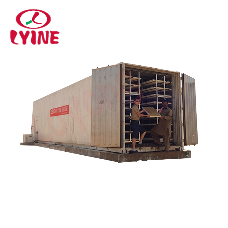 LYINE Automatic Low Cost Of Hydroponic Machine For Fodder/Barley/wheat Grass