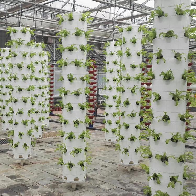 LYINE Indoor Gardening Hydroponic Vertical Grow Towers For Greenhouse