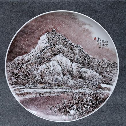 初雪凤凰山