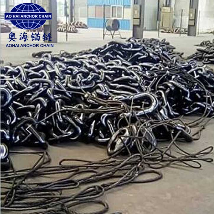 anchor chain with class certificate