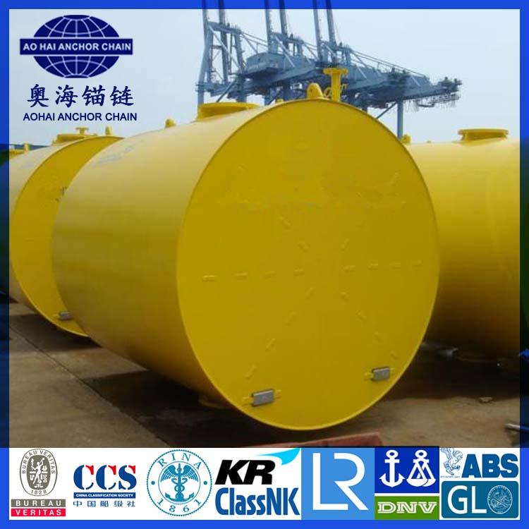 Cylindrical Steel Mooring Buoy