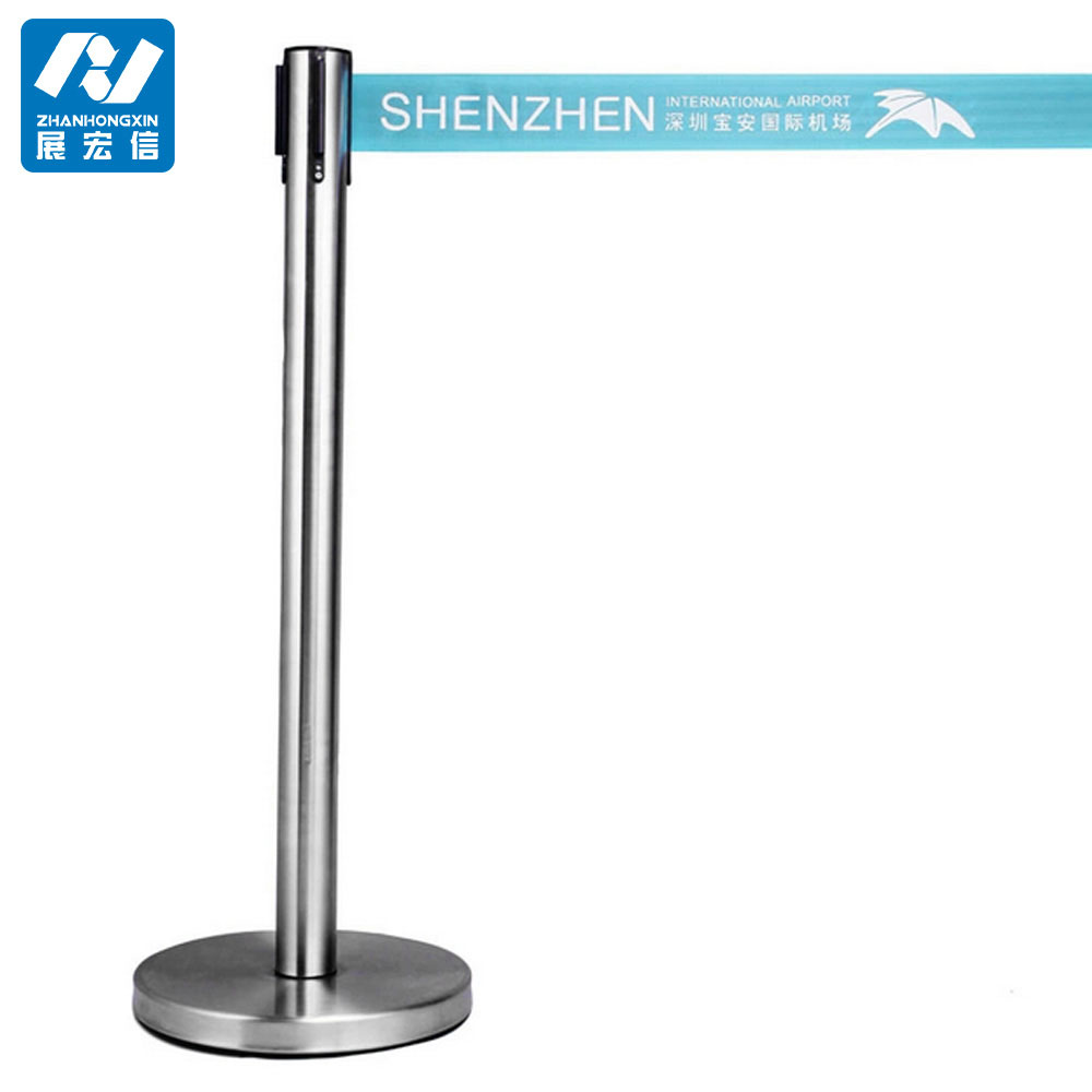 Wholesale Crowd Control Stanchions/Retractable Belt Stand Railing Stand