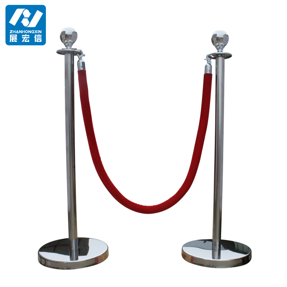 Queue barrier, bank queue line control barrier with rope