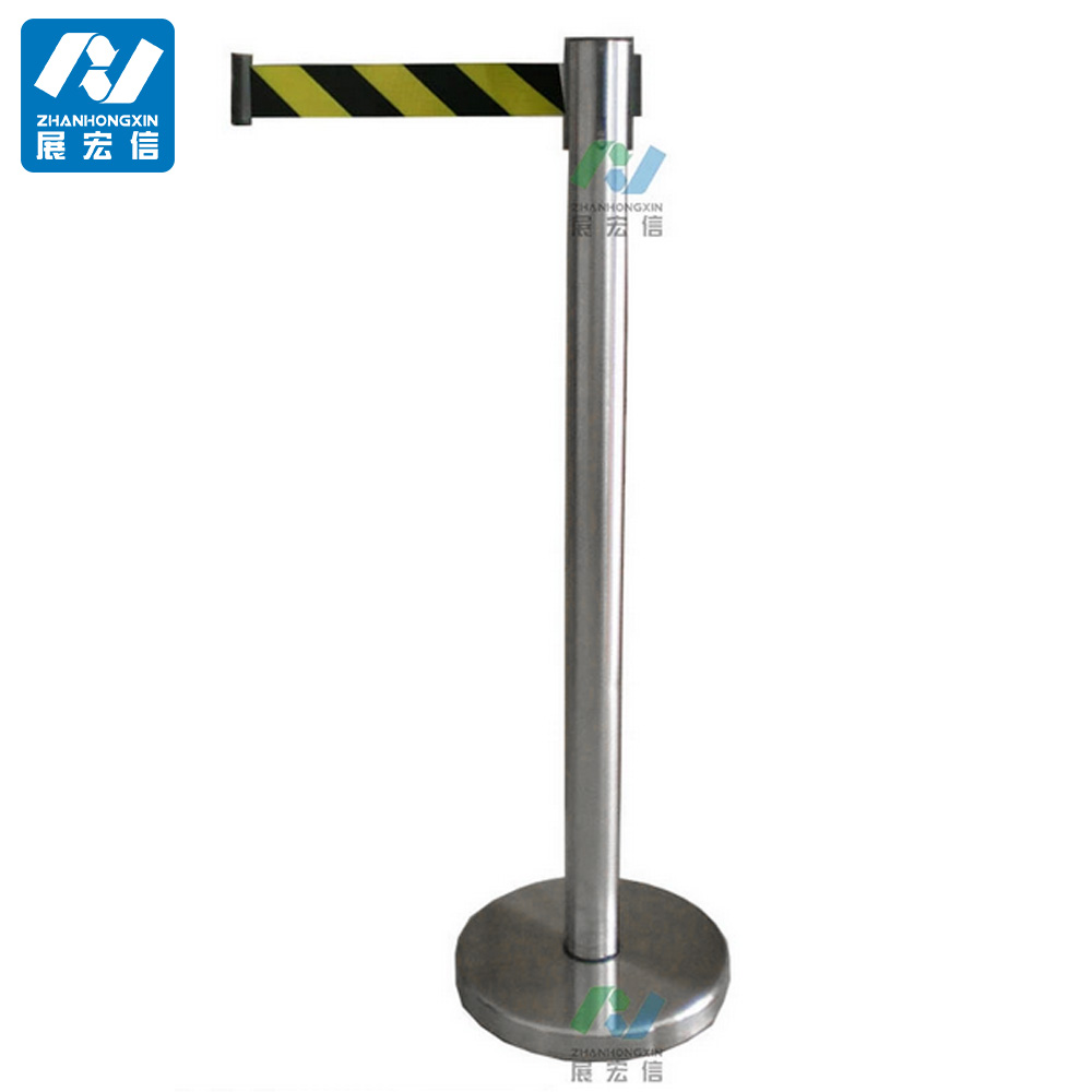 portable post, crowd control post, barrier post