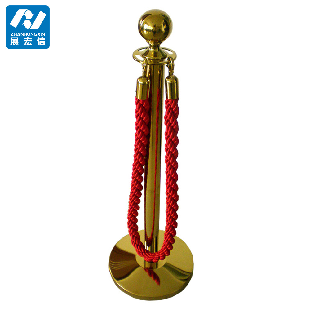 Stanchions,titanium crowd control rope stanchion