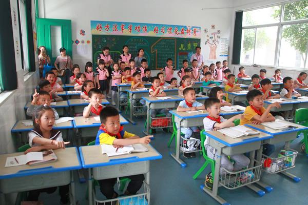 """幼小衔接,促进成长——梅林实验学校迎来一批""""小客人"""""""