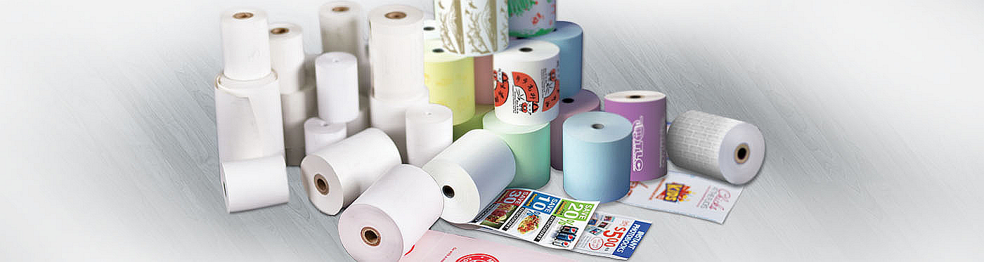 Picture of Finished Paper Rolls