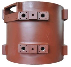 Water-cooled DC Motor Casing