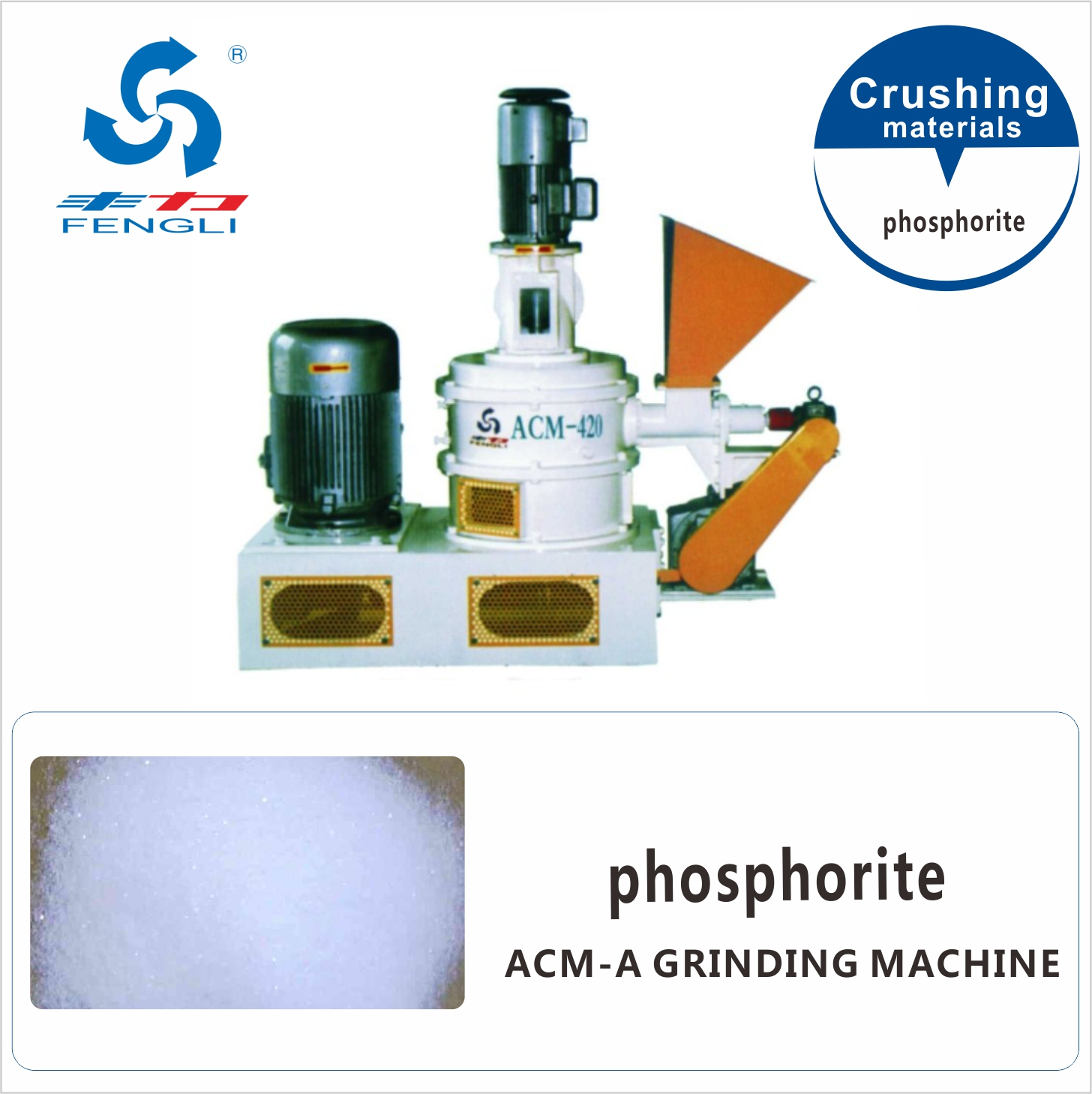 Superfine Phosphorite Grinding Mill