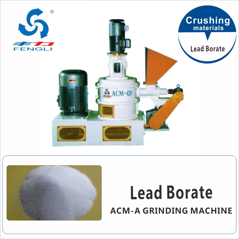 Superfine Lead Borate Grinding Machine