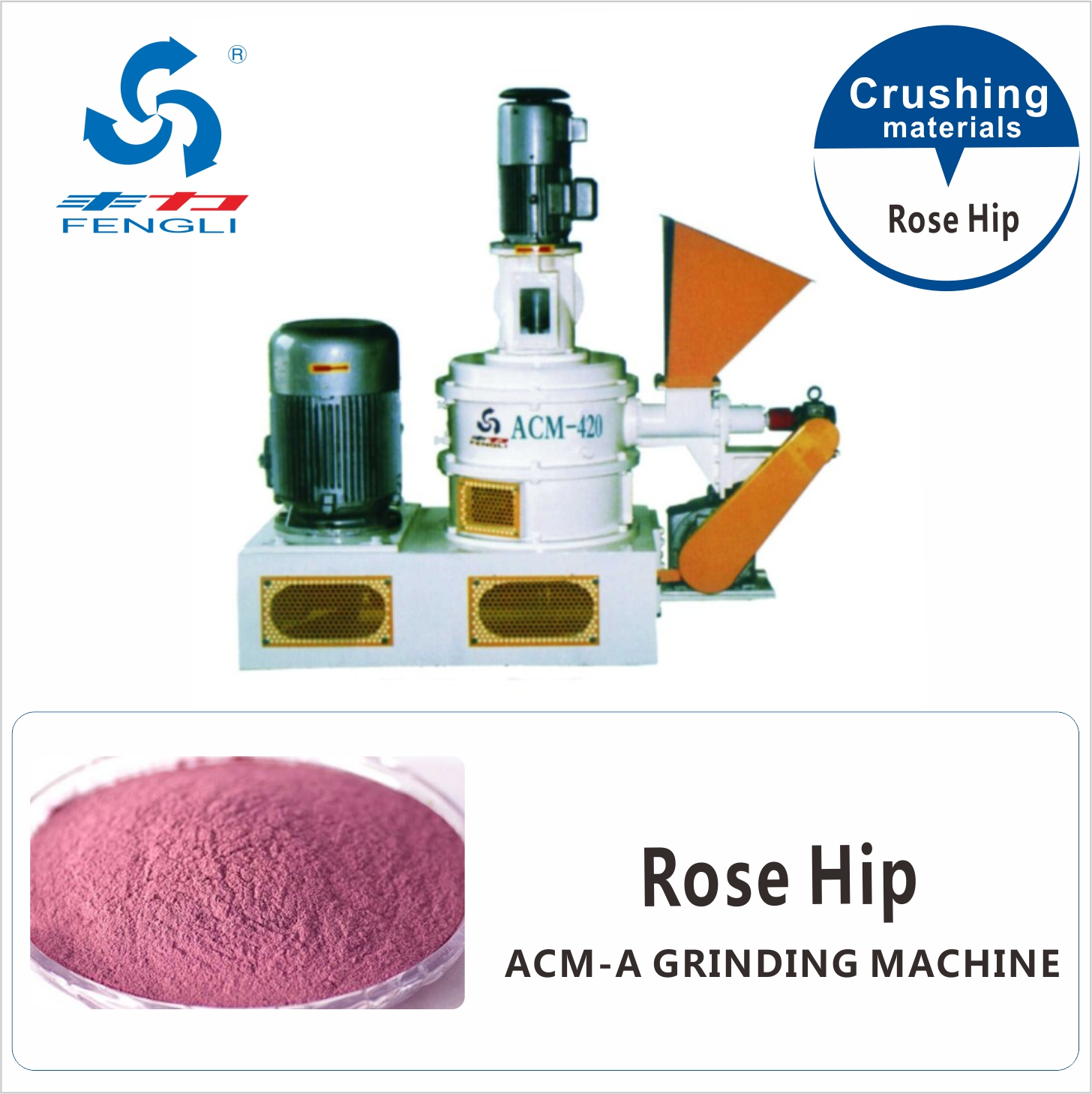 Superfine Rose Hip Grinding Machine