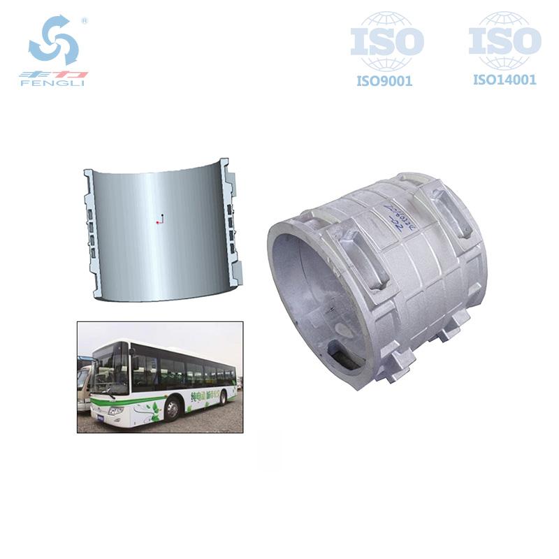 新能源水冷大巴铸铝机壳