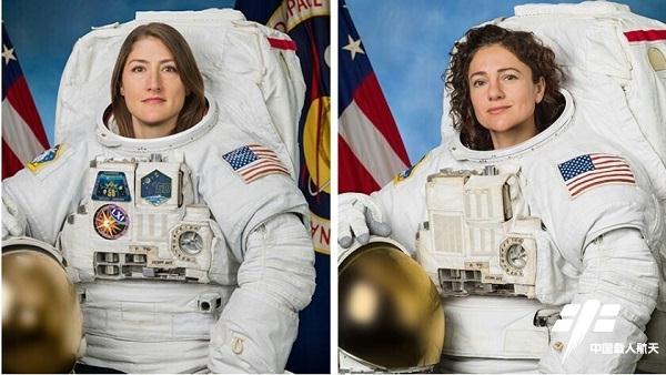 两名美国女航天员完成首次全女性太空行走