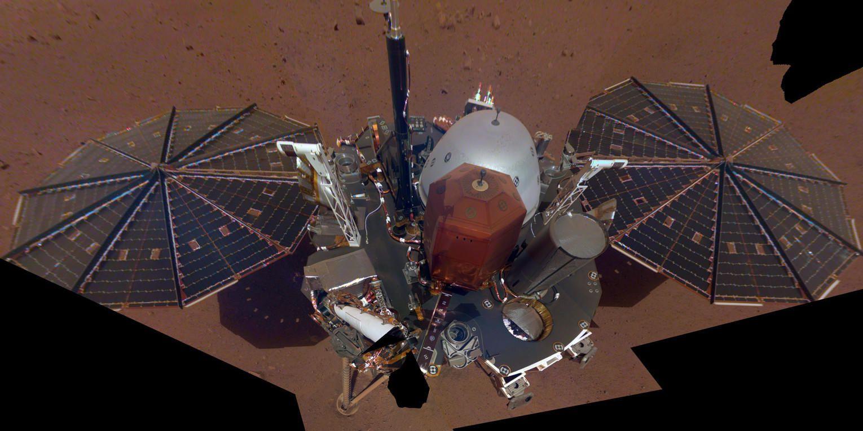 """NASA洞察号着陆器""""鼹鼠""""遭遇又一个不幸"""