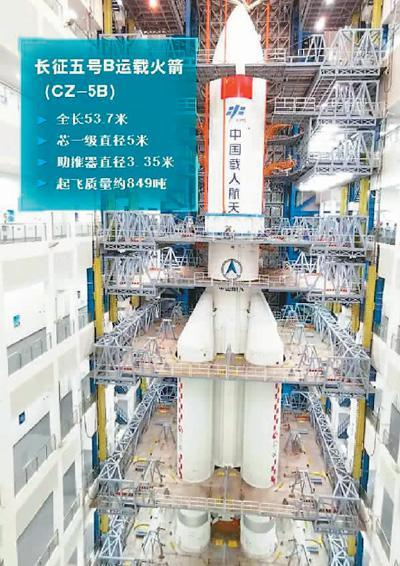 """新飞船+新火箭 中国航天迈向""""四月突破"""""""