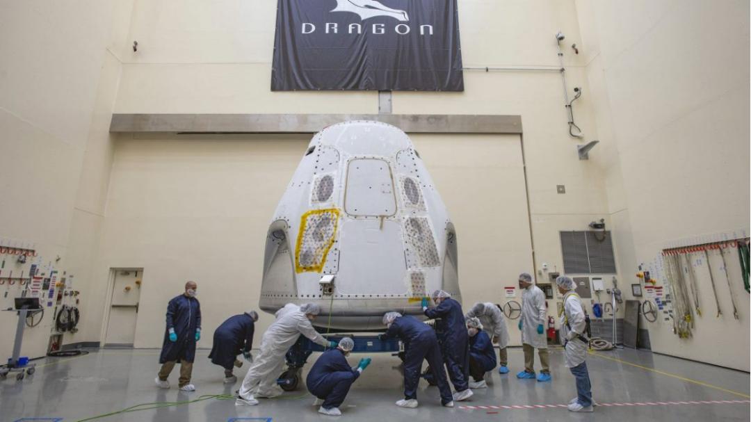 SpaceX即将进行首次载人航天任务,疫情也不能阻挡马斯克