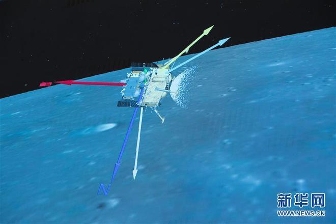 嫦娥五号成功落月,将工作两天,钻2米取土