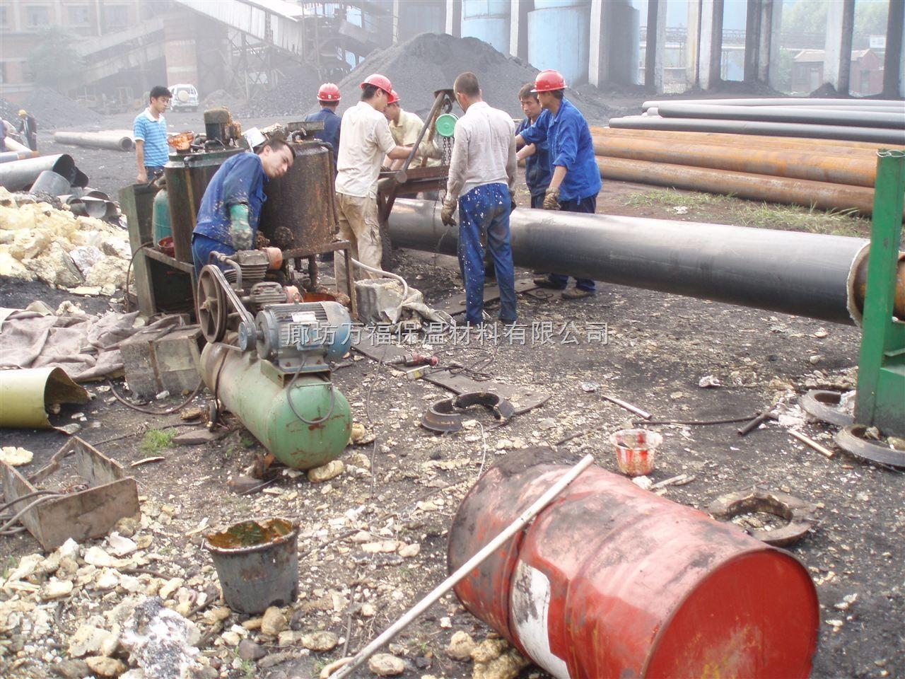 万福直埋保温管厂家为河南客户设计施工方案