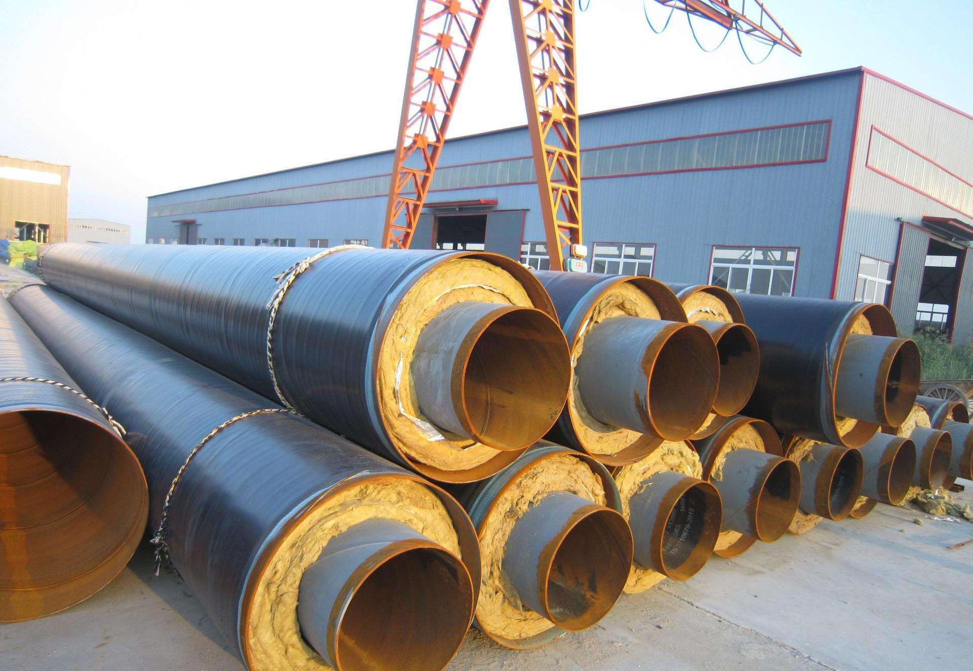 菏泽民生热力有限公司城市供热聚氨酯直埋保温管道工程