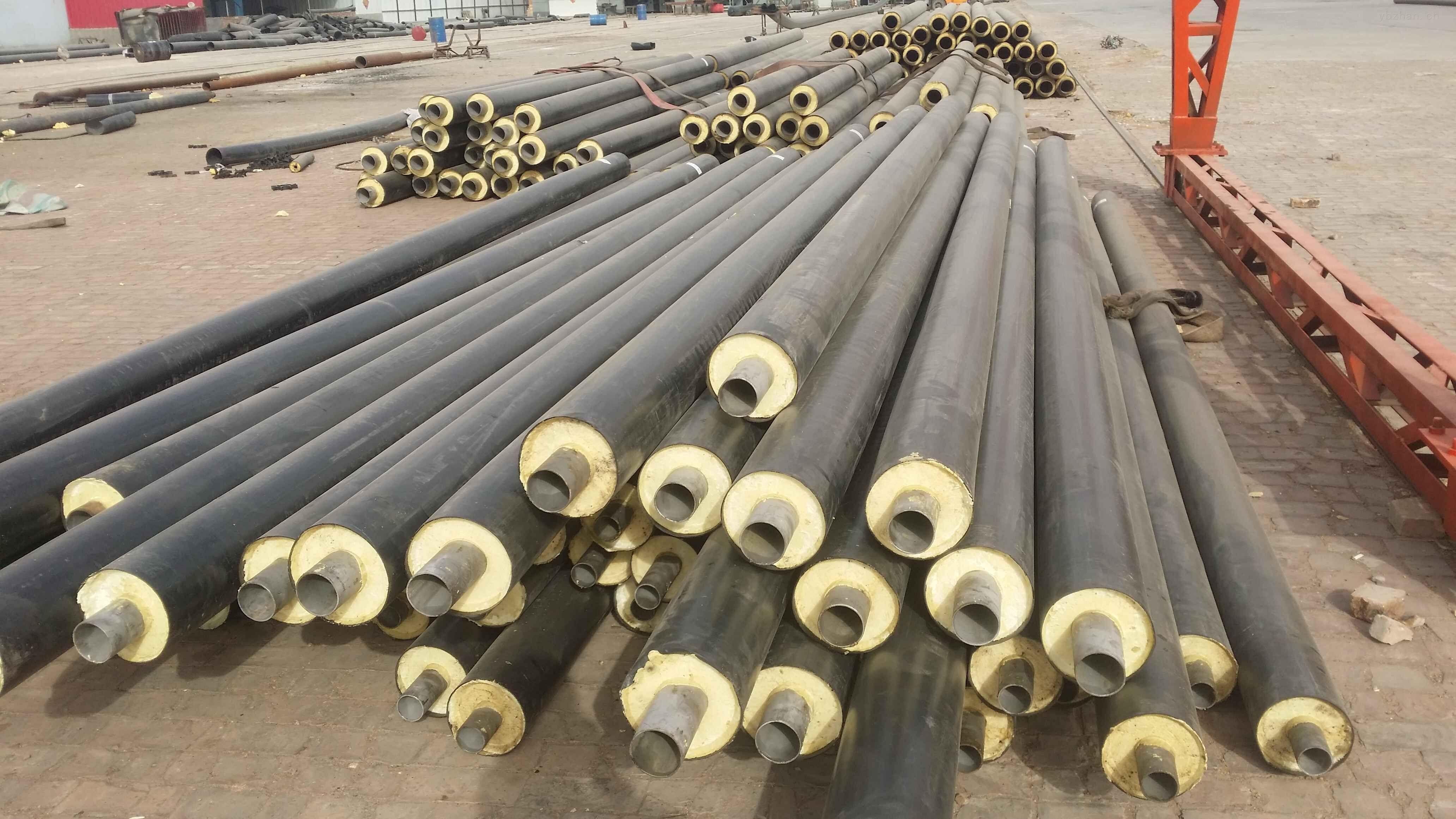菏泽热力公司地热温泉水供暖管道案例