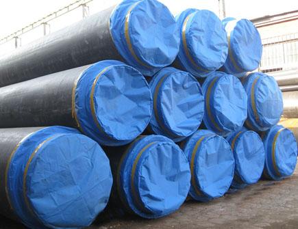 羊口海翔城市供暖聚氨酯保温管工程案例
