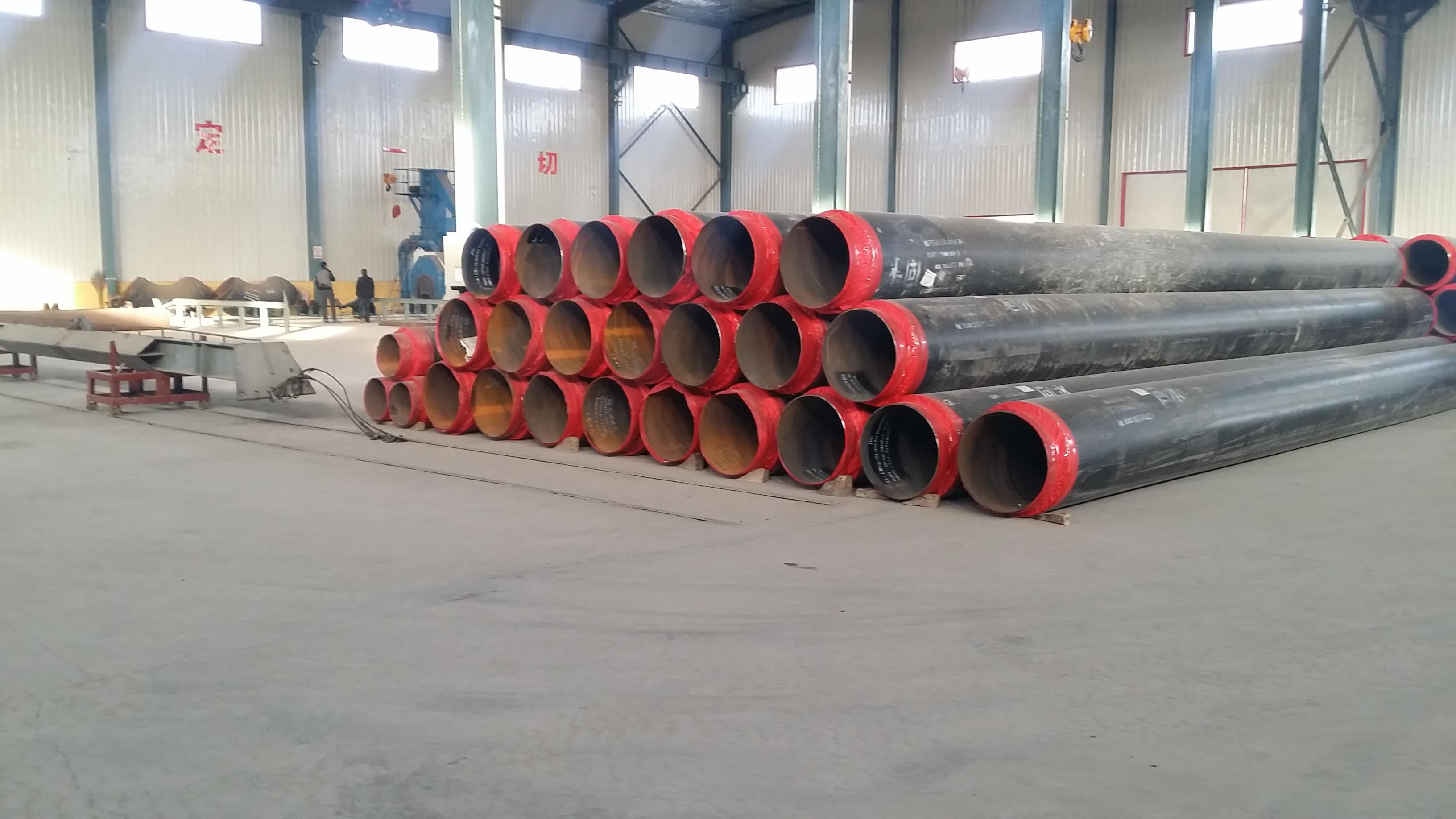 昌乐源丰热力小区改造供热管道案例