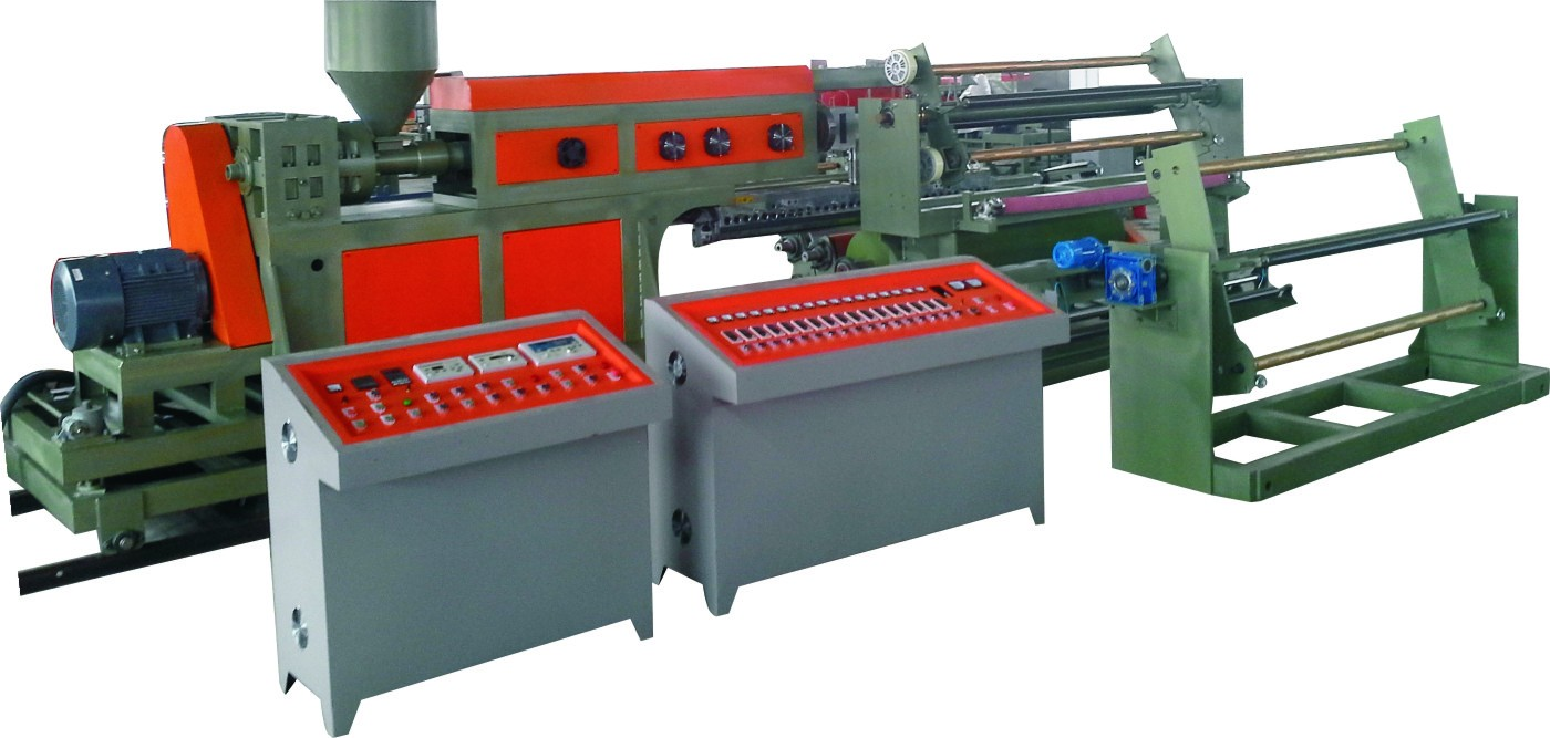 Plastic coating/lamination machine.