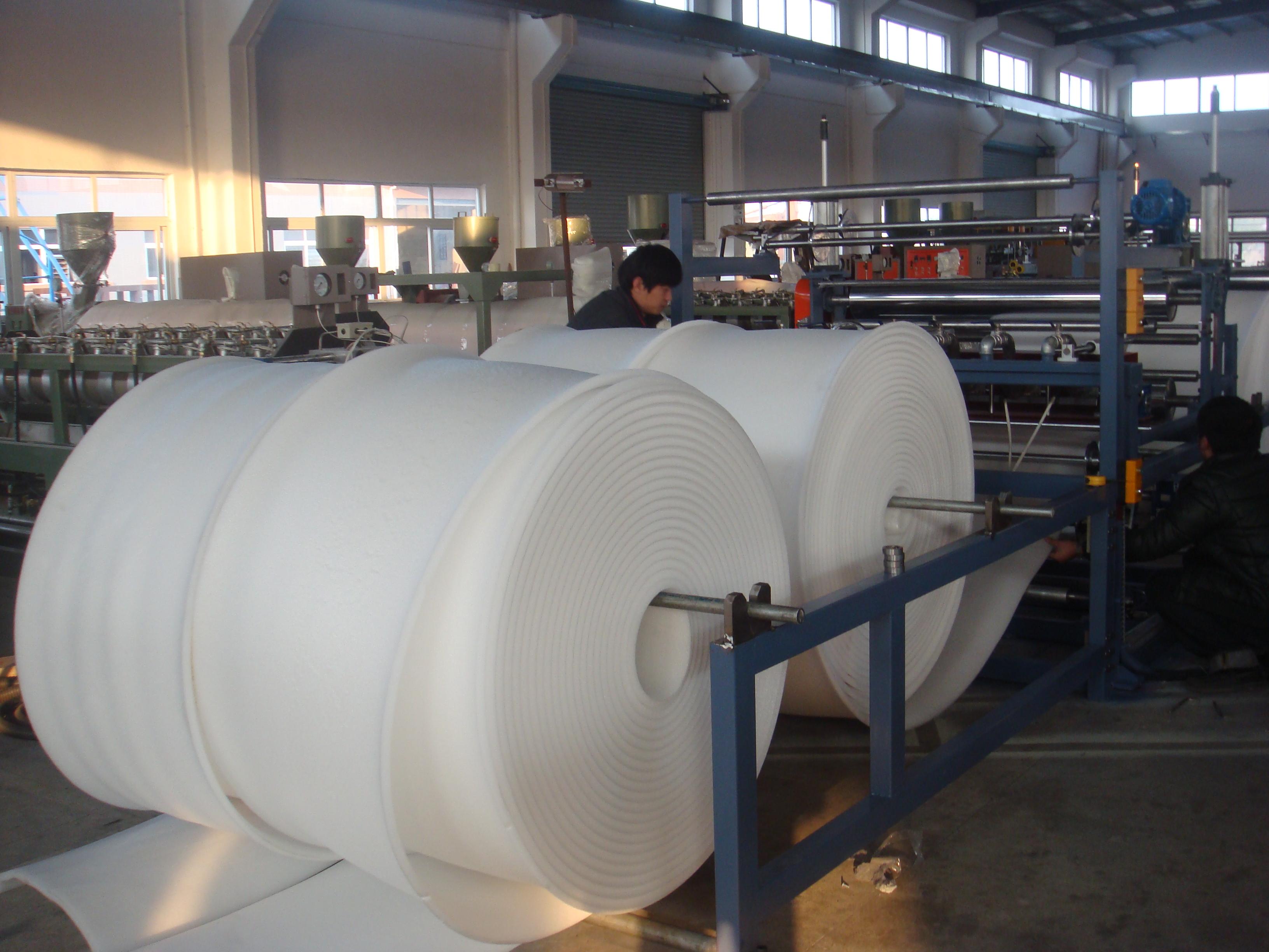 EPE Foam Sheet Bonding/Thickening Machine